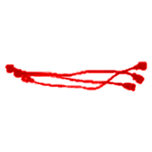 Battery wire(Red)