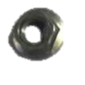 Front wheel flange nut M10 (Zn)
