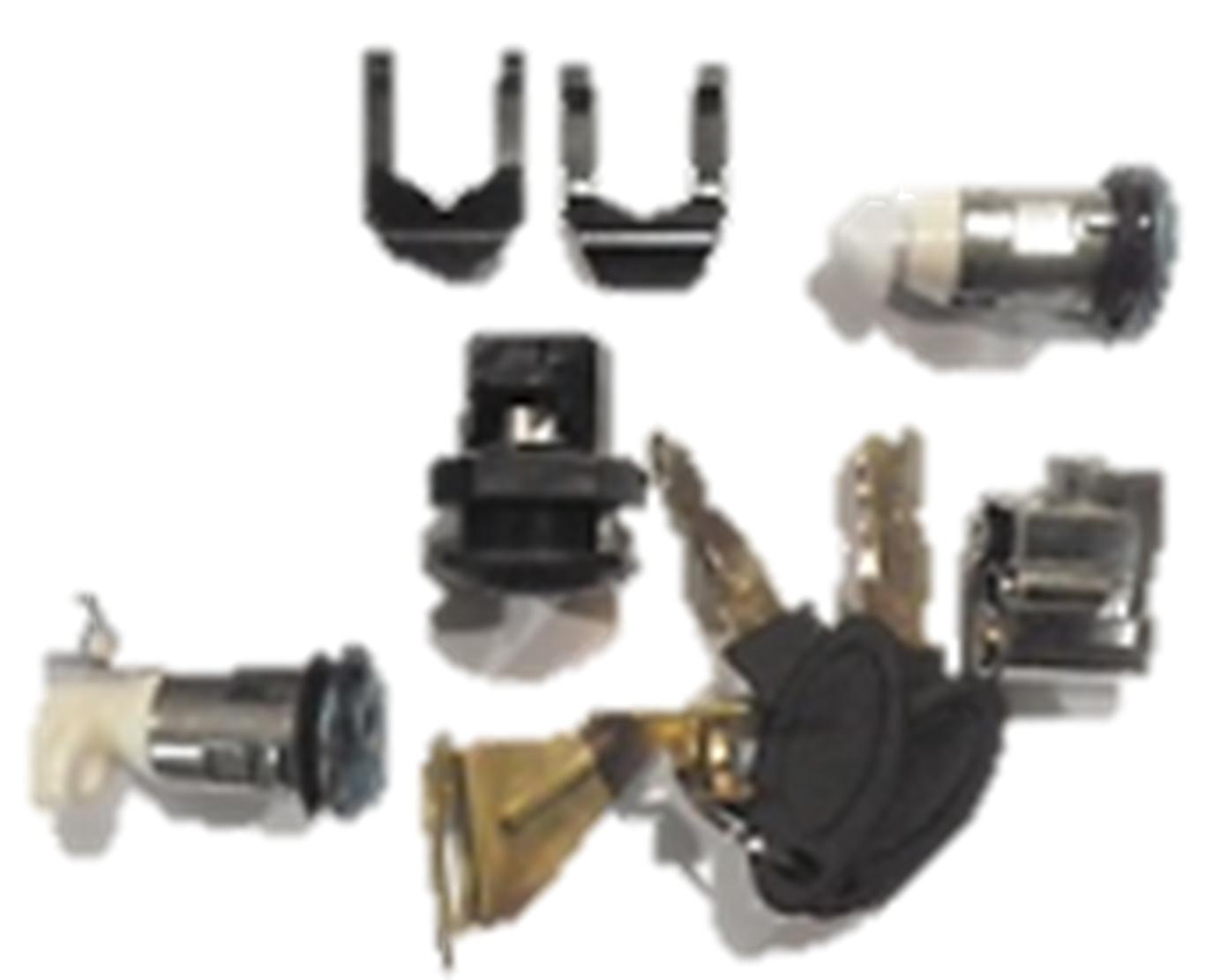 Ignition key/lock set