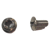 Chain cover round head bolt M/nut