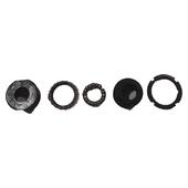 Front chain sprocket bearing/nut set (5 pcs)